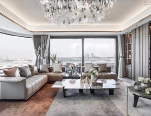 HWCD设计--绿地·黄浦滨江177样板房