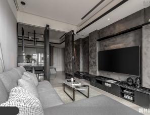 觀林設計--客廳物盡其用!瞬間變身小客房