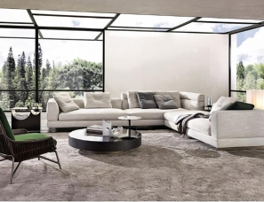 Italian Design :Minotti 2018 Collection 鎰忓ぇ鍒╄璁�:Minotti 2018绯诲垪