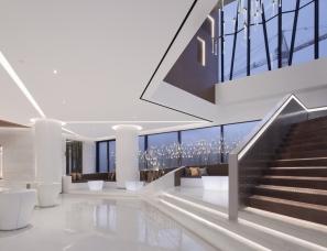 深圳昊泽空间设计--南宁五象世茂中心售楼处