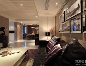 力设计---30万130平三室两厅现代简约硬朗派