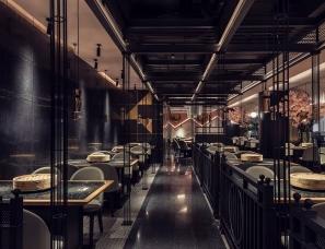 杭州屹展室内设计--壹港蒸锅瘾