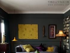 家一样可以是黑色,神秘又酷的时尙家