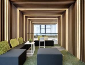 上海集艾设计--绿地创新产业中心独栋办公样板房