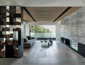 源原设计--台湾340㎡现代风格别墅