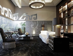 台北天坊室内张清平设计--台湾东方帝国售楼处