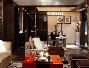 戴勇室内设计事务所 深圳卓越维港GB3样板房—中式的愉悦