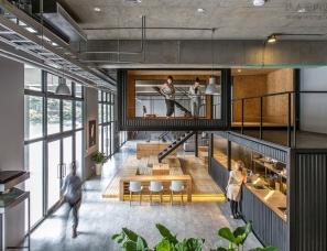 台湾工业风物流公司办公室