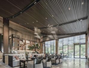景地组设计--桂林 · 伴山云庐售楼部