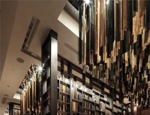 林伟而设计--南京金奥费尔蒙酒店温哥华扒房