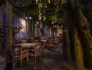 海南悟新设计--侏罗纪公园主题美食公园