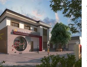 党建案例:党建文化馆外观设计——杨强设计