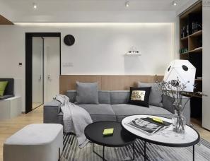 家倍得设计 --静安老房爆改成时尚二居室