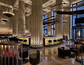 Rockwell Group设计--曼哈顿Nobu餐厅