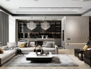 IDOL DESIGN--圣彼得堡149m²舒适公寓