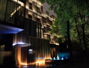 杭州象内创意设计--崇尚现代自然与舒适-忆泊酒店青酒吧