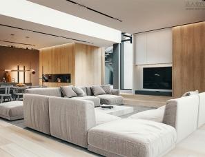 kuoo architects设计--wroctaw 500㎡公寓