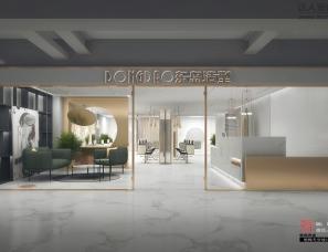 明烨天空-东岛造型美发店效果图表现项目