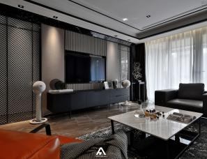 南昌阿鹤设计   现代轻奢风,给你一个有质感的家!