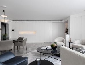 《留白与克制——高级白》——柒筑空間設計