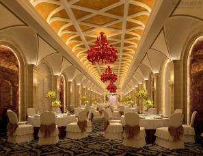宴会厅设计案例效果图