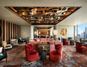 Wilson Associates--MO Bar 新加坡滨海湾鸡尾酒廊