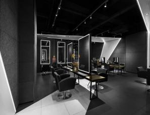 杭州宣驰装饰设计--杜尚发型 滨江天街美发店