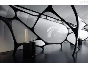 扎哈 哈迪德 设计-- 香港香奈尔艺术展厅