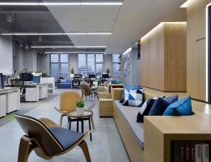 万科虹桥云办公样板房室内设计 集艾设计