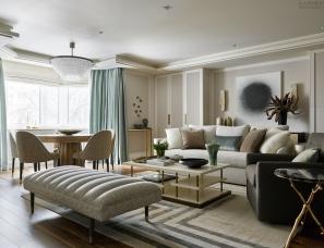 【首发】 Elena Chabrova设计--莫斯科170m²公寓