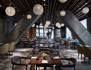 """空与间酒店摄影:""""又见""""言几又,跨界阅读主题餐厅!"""