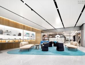 中森建筑--与用户的深度互动,蔚来广州体验中心