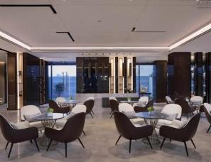 深圳华墨国际设计--融创·美林湖·湖滨首府售楼处