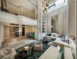 集艾设计--上坤上海樾山半岛别墅样板房