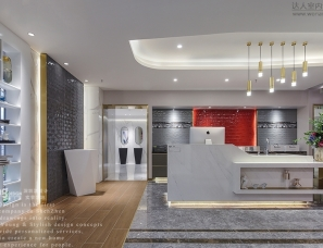 Young新作 | 追求极致的瓷砖展厅,出彩更出众!