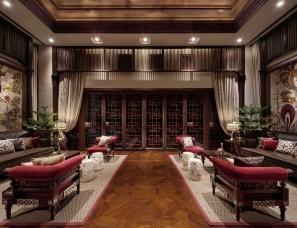 台北联合林福星设计--新世界誉名别苑(名镌)会所