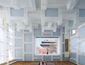 Beijing Tea House禅意北京茶室设计 | Kengo Kuma隈研吾建筑事务