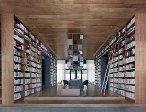 风合睦晨空间设计--句容市图书馆金科分馆