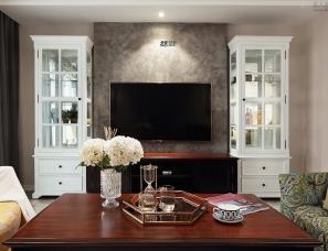 北岩设计--小资慢调|现代美式风,她的家弥漫雅致...
