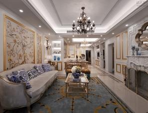 深圳墨客环境艺术设计--华地森林湖G户型样板房