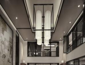 风合睦晨空间设计--天津红磡领世郡普林花园C户型中式别墅