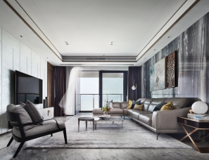 维塔空间设计|质感私宅,栖于山海