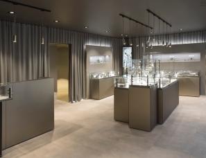 Yatofu Creatives设计--First Stone Showroom琥珀商店