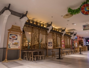 王一木设计--益汁鹅餐厅淮南新世界生活广场店