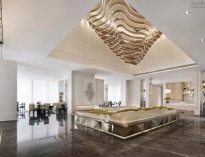则灵艺术设计--重庆云山晓售楼部