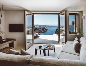 K-studio设计--圣托里尼岛Vora酒店