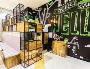 悉尼Quince金属框架的咖啡馆