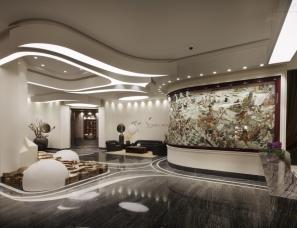 东莞王鸿斌设计作品--【火魂】上海企一照明企业会所展厅