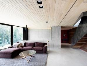 Alain Carle--La Héronnière住宅,加拿大