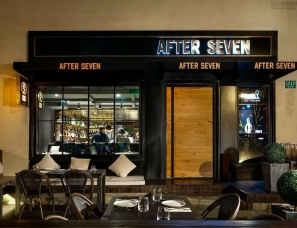 艺狄克设计--After Seven 酒餐吧